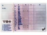 Rückseite Führerschein