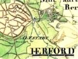 Auszug aus einer historischen Karte
