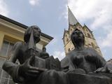 Denkmal der Herforder Stiftsdamen