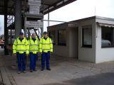 Mitarbeiter des Abfallentsorgungsbetriebes
