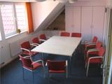 Aufnahme eines Wohnzimmers in der Sozialpsychiatrischen Rehabilitationseinrichtung in Bünde