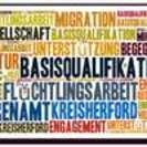 Flyer für die Basisqualifikation für Ehrenamtliche in der Flüchtlingshilfe - Auftaktveranstaltung im Kreishaus in Herford