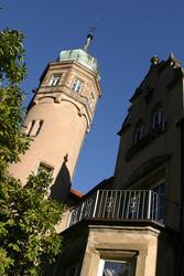 Der Uhlenburg Turm in LÖhne